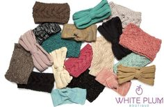 Winter Headbands - 4 Styles and 19 Colors!