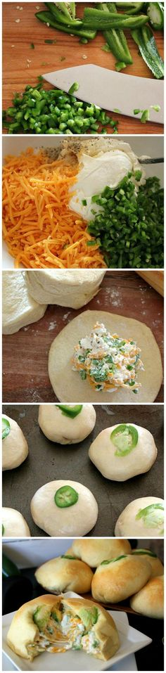 Jalapeño Pillows ~ spicy, cheesy, puffy pillows for game day or anytime you need an easy crowd-pleaser with a kick. #taste