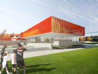 Pläne für neues Jugendzentrum des VfB Stuttgart vorgestellt / Steine für Beine - Architektur und Architekten - News / Meldungen / Nachrichten - BauNetz.de
