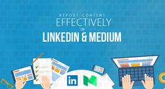 Online marketers keep reposting the same content over and over again, across different online channels, particularly on LinkedIn Pulse and Medium, to get  more views and secure greater exposure. Visit https://www.dubseo.co.uk/blog/how-to-repost-content-effectively-on-linkedIn-and-medium