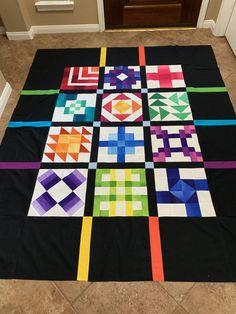 Southwest Quilts, Quilt Border, Quilt Art, Color Combos, Quilt Blocks, Quilt Patterns, Layouts, Diy Ideas, Sewing Projects