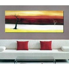 Beautiful original modern abstract art handpainted on high quality canva. Each piece is stretched and wrapped on wooden frames.