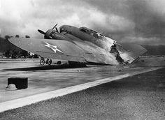 Le B - 17C AAF S/N 40-2074 a été tourné vers le haut par les japonais, même si un seul membre d'équipage a été tué par une attaque de la Zero et a pu se poser (un peu) en toute sécurité à Hickam Field. Un incendie à bord brûlé l'avion en deux peu après l'atterrissage le 7 décembre 1941.