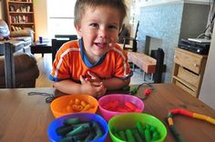 How to Dye Pasta for Toddler Crafts
