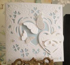 Create a card romance Diesire die. Love it!