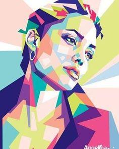 #angelinajolie #drawing #warna #wpap #wpapfba #art #artwork #popart #colorful #indonesia #illustration #digitalart #graphicdesain #vector #coreldraw #photoshop #jasavector #jasawpap #jasailustrasi #jasadesain #dailyart #kadounik #kadoultah