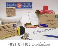 Post Office Invitation