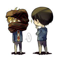 Akihito and Hiromi