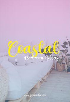 Coastal Bedroom Ideas – If you think coastal design close to anchors, blue and white, and seashells.