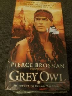 Grey Owl VHS Video Tape NEW SEALED 1999 Biopic Archibald Belaney PIERCE BROSNAN | DVDs & Movies, VHS Tapes | eBay!