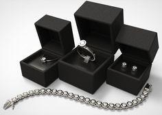 Anne Collection - Minimalistic Tube Diamond Jewellery Set