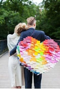 Or a piñata! | 35 Incredibly Fun Ways To Add Color To Your Wedding  Pinata at a wedding, GREAT idea! :)