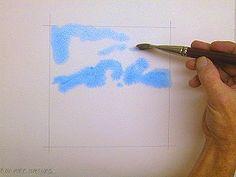 Wet-in-Wet Watercolor Painting Tutorial © 2009 Gregory Conley