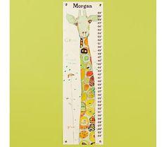 Kids Giraffe Growth Chart