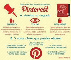 Infografía como triunfar en Pinterest  #Marketing  #socialmedia #Infografía