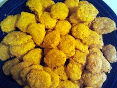 """Cheese Nuggets! 4.24 stars, 17 reviews. """"I'm very impressed!! Waay too much cayenne for us, but that can be adjusted. Delicious. And beautiful. My friends will love these. They are perfect for parties. Way healthier than store bought. Great, incredibly easy recipe that I will use over and over."""" @allthecooks #recipe #appetizer #easy #cheese #quick #snacks"""