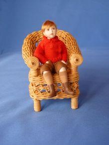 Robin - Resin Dolls - Jane Davies.