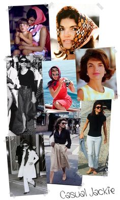 One of my greatest inspirations, not just in fashion, is Jackie O. Ever since seeing the picture of her in the car trying to collect her hus...