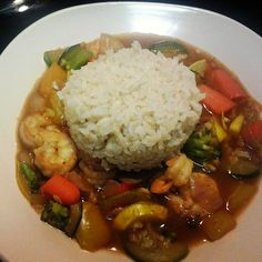 Gravy on Sundays: Asian Inspired Shrimp with Vegetables