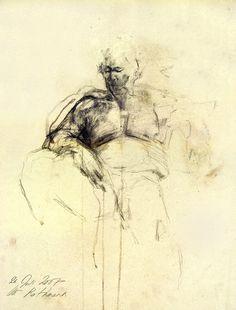 Original drawing Hommage à Klimt II  mixed media on by uterathmann, €370.00