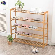 Everything from beautiful furniture to colourful and creative art pieces. Bamboo Shoe Rack, Wood Shoe Rack, Shoe Racks, Shoe Storage Furniture, Home Furniture, Furniture Design, Shoe Cabinet Design, Shoe Storage Cabinet, Shop Shelving