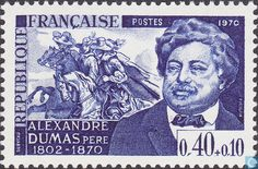 Alexandre Dumas (1802 – 1870 was a French writer. His works have been translated into nearly 100 languages, and he is one of the most widely read French authors. Many of his historical novels of high adventure, including The Count of Monte Cristo, The Three Musketeers and Twenty Years After.