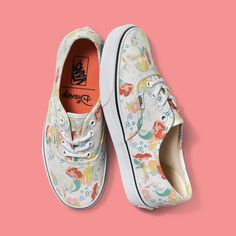 Exclusive: Vans Creates the Chic Disney Princess Gear You'd Want