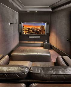 Home Theaters on Pinterest  Small Media Rooms, Home Theater Design ...