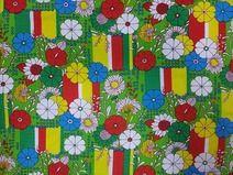 Blumenstoff  70er