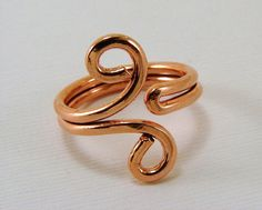 Copper Ring  Any Size Sterling Copper Brass by SecondNatureJewelry, $12.00