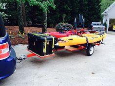 My kayak trailer I designed and built