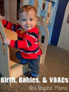 One Organic Mama: Birth, Babies, & VBACs.