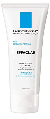 La RochePosay Effaclar Medicated Gel Cleanser for Acne Prone Skin with Salicylic Acid 676 Fl Oz -- Check out this great product by click affiliate link Amazon.com