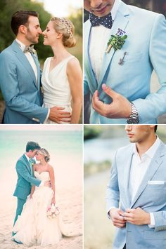 Goodbye Black Suits! 30 Stylish Colored Suits for Modern Grooms!