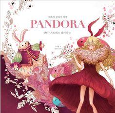 Preivew Pandora Coloring Book Anti Stress Fantasy Adult Art Therapy Gift Healing