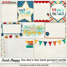 The Sky's The Limit-Project Cards by Meghan Mullens