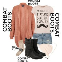 How to Style Combat Boots by clueless-styles1d on Polyvore