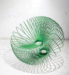 Radiolaria - Unique Garden Chair by Lukas Dahlen - deco NICHE Art Furniture, Furniture Design, Unique Gardens, Garden Chairs, Science Art, Cool Chairs, Home Appliances, Interior Design, Eccentric