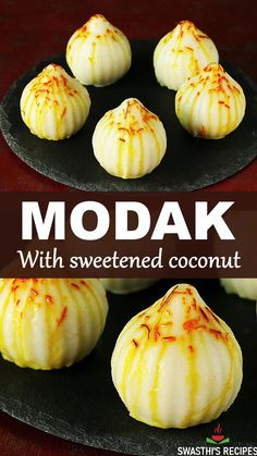 Sweet Rice Flour Recipe, Indian Dessert Recipes, Easy Indian Sweet Recipes, Modak Recipe, Traditional Indian Food, Beef Recipes, Cooking Recipes, Vegetarian Snacks, Lord Ganesha
