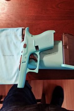"Tiffany blue Glock 42 ""Baby G"""
