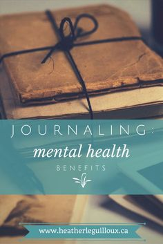 Journaling can be a great way to express thoughts and emotions, work through difficult situations, or uncover hopes and dreams for the future. Check out this blog post via /hleguilloux/ to learn more about how beneficial journaling can truly be for your mental health | wellness | journal | anxiety | depression | therapy | health