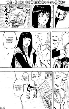 """ After The Last by Masashi Kishimoto  Naruto and Hinata on a date."