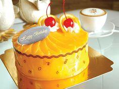 เค้กส้มแมนดาริน Cupcake Cakes, Cupcakes, Tart, Panna Cotta, Muffins, Bakery, Birthday Cake, Desserts, Food