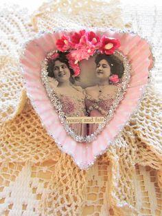 Sweet #Valentine Tart Tin..... #heart #pink