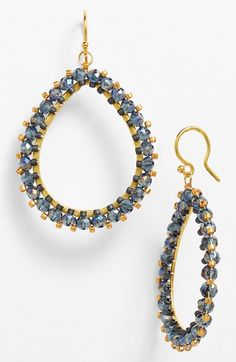 Chan Luu Beaded Teardrop Earrings | Nordstrom