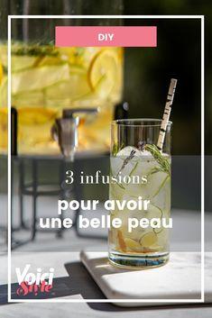 Découvrez ces recettes sur Voici.fr Pint Glass, Voici, Diy, Beer, Tableware, Recipes, Root Beer, Ale, Dinnerware