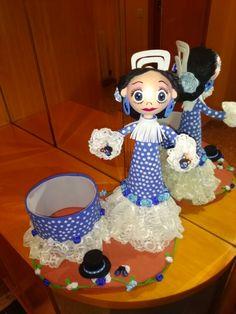 Fofuchas anna ro di Flamencas gomaeva puntillas. Y mucho salero