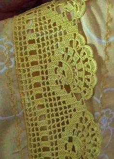 Ravelry: Filetstueck's Handkerchief / hanky in filet-crochet with scalloped edge Crochet Boarders, Crochet Edging Patterns, Crochet Lace Edging, Crochet Motifs, Crochet Diagram, Crochet Chart, Crochet Squares, Thread Crochet, Crochet Trim
