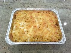 Baked Mac and Cheese w/ Egg