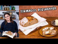 Ha szeretitek a kovászos rozskenyér kicsit savanykás ízét és könnyű, levegős állagát, akkor most mutatunk egy megúszós alternatívát erre. French Toast, Breakfast, Recipes, Street, Kitchen, Youtube, Breakfast Cafe, Cucina, Cooking